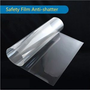 anti shatter OKC window film